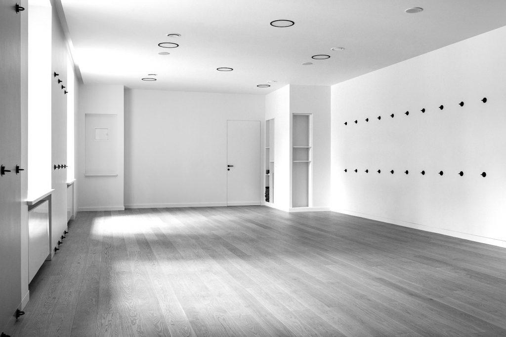 Sala do praktyki w Studio Jogi Katarzyny Pilorz
